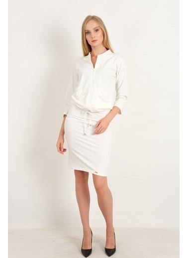JEANNE D'ARC 2 li Takım Beyaz